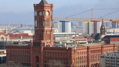 Photo of Rotes Rathaus 1869 von Friedrich Waesemann im Stil der Neo-Renaissance errichtet