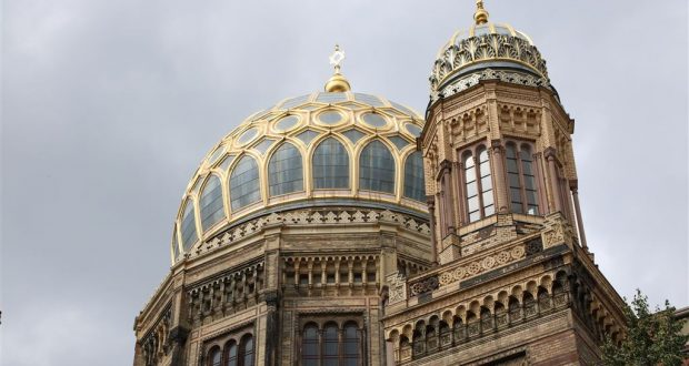 Die Neue Synagoge mit Ihrer Hauptkuppel