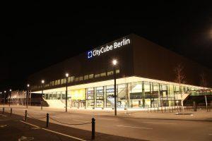 CityCube Berlin - Hier stand die Deutschlandhalle
