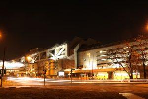 Internationale Congress Centrum Berlin bei Nacht