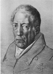 Wilhelm von Humboldt, Kreidezeichnung von de:Johann Joseph Schmeller