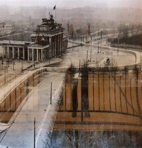 DDR Grenze am Tor 1962