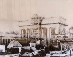 Neubau nach C. G. Langhans 1791