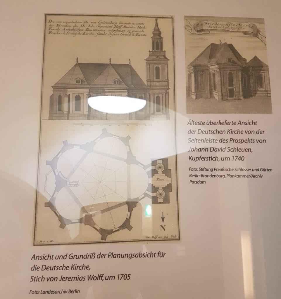 Bauplan des Deutschen Dom - Fünfeck